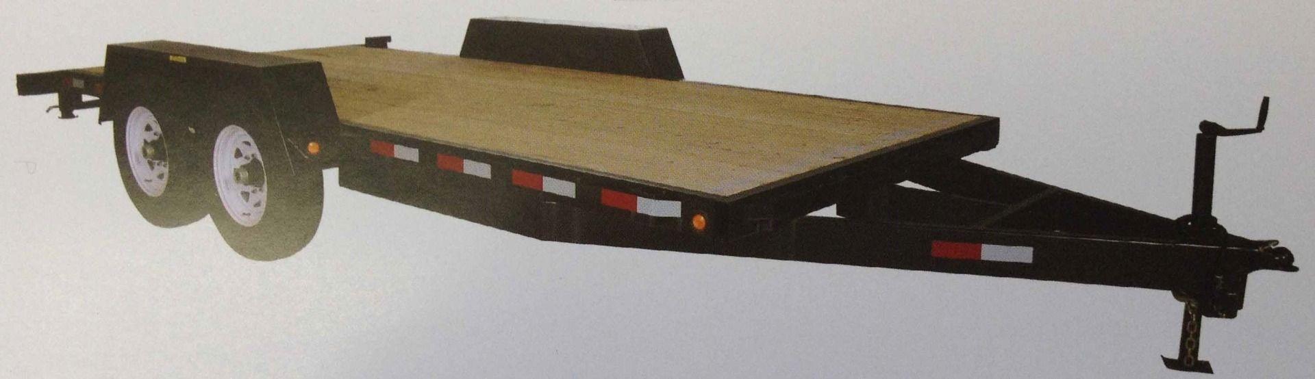 """JDJ All Purpose Tandem Trailer (6'8"""" W x 18' L) Model AP 12000 8018"""
