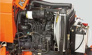 23HP liquid-cooled diesel engine