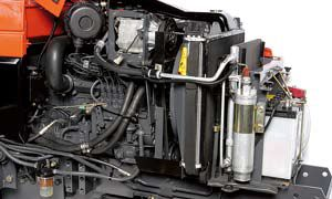 the liquid cooled E-TVCS engine delivers increased power & high torque