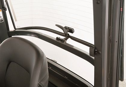 The cleverly devised rear hatch half-lock opens just enough for fresh air ventilation while kee