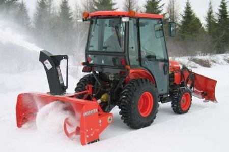 Kubota B2789 Rear-Mount B Series Snowblower
