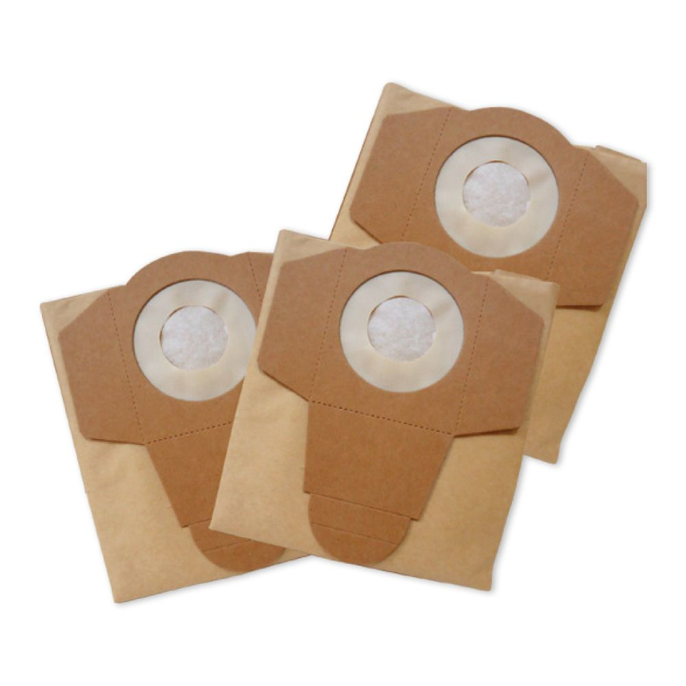3PK Disposable Filter Vacuum Bags