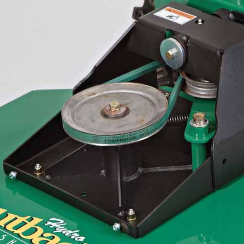 Heavy-Duty Blade Spindle - Reinforced in four directions for maximum durability and safety, so you can keep cutting in the harshest environments.