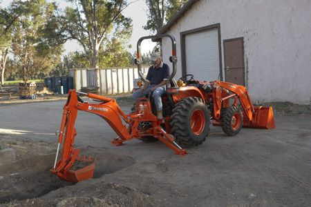 Kubota Backhoe Implement BH77 | Lawn Equipment | Snow
