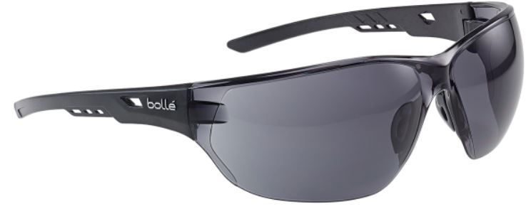 Bolle NESS NESSPSF Safety Glasses in Smoke
