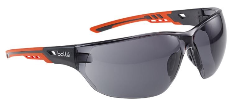Bolle Safety Glasses in Smoke NESSPPSF