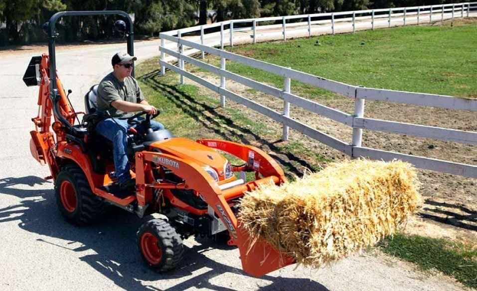 Kubota BX23S Tractor-Loader-Backhoe