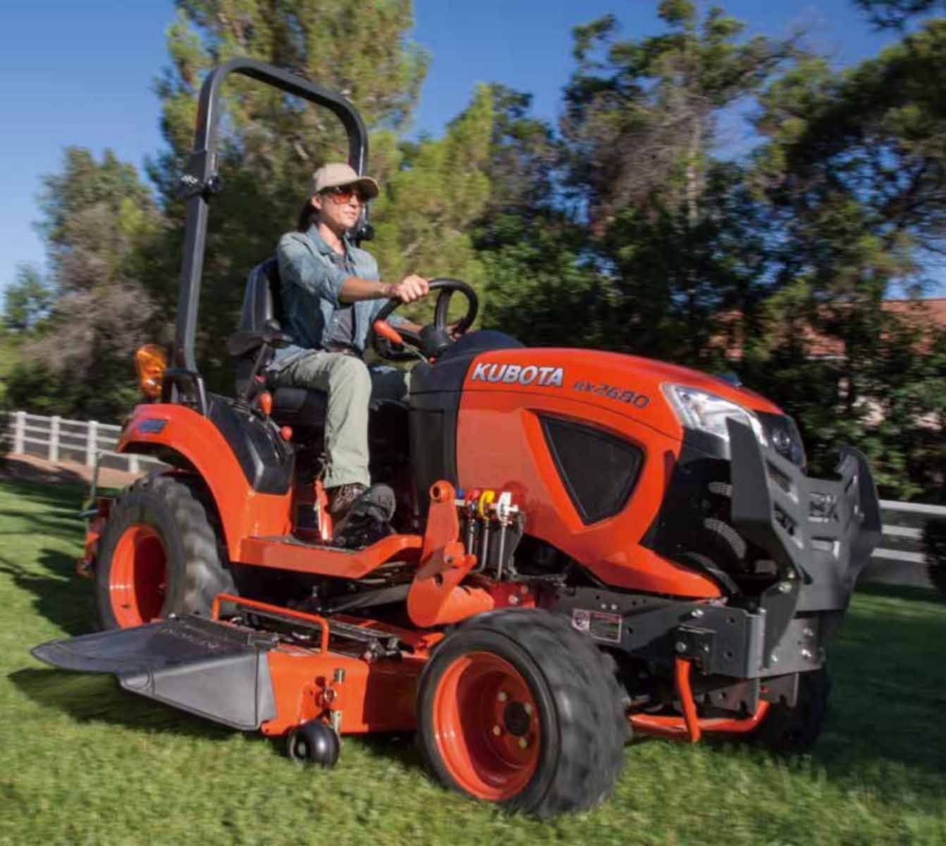 Now equipped with cruise control making it easy to mow large areas or travel long distances
