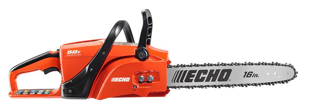 ECHO 58V Chainsaw with 4AH Battery & Charger
