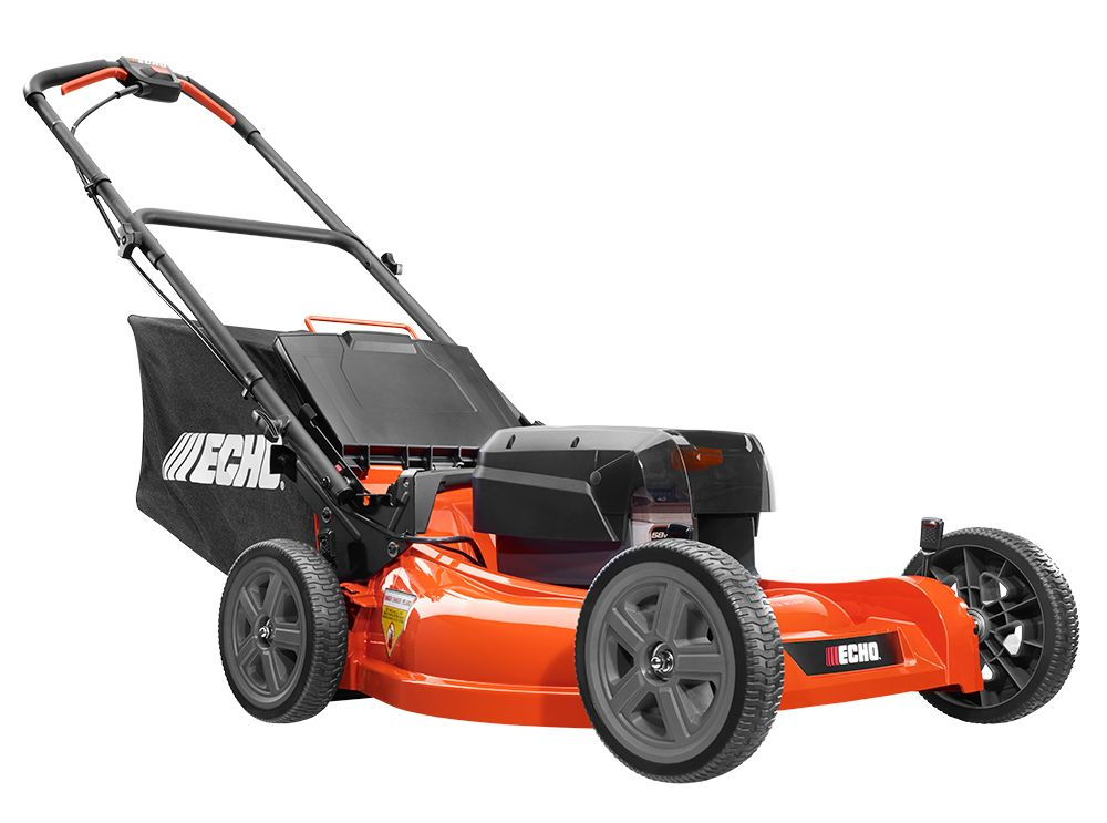 ECHO 58V Lawn Mower with 4AH Battery & Charger
