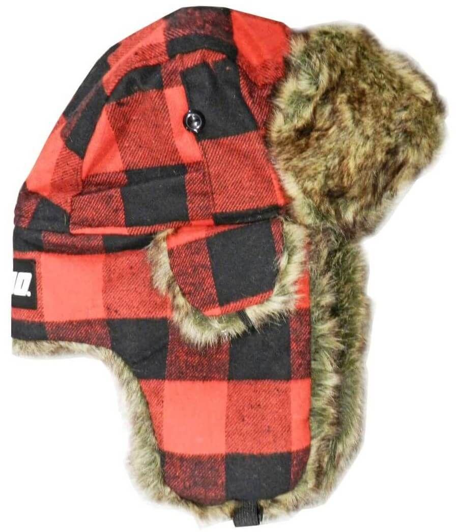 ECHO Trapper hat in Buffalo Plaid