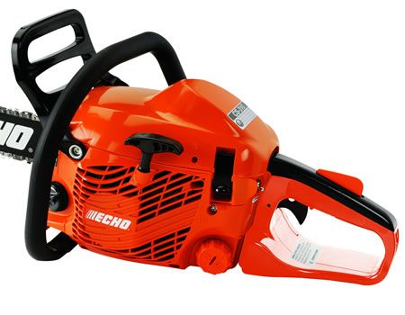 ECHO CS-310 chainsaw engine close up