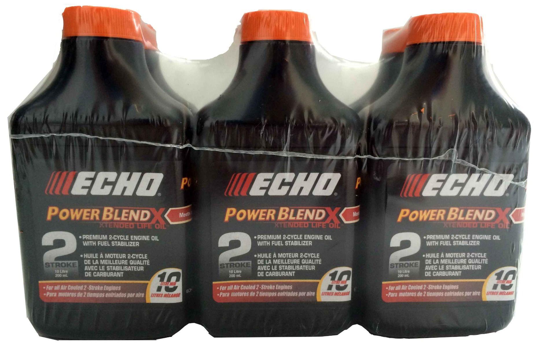 ECHO POWERBLEND PREMIUM 2 CYCLE ENGINE OIL 200ML bottles