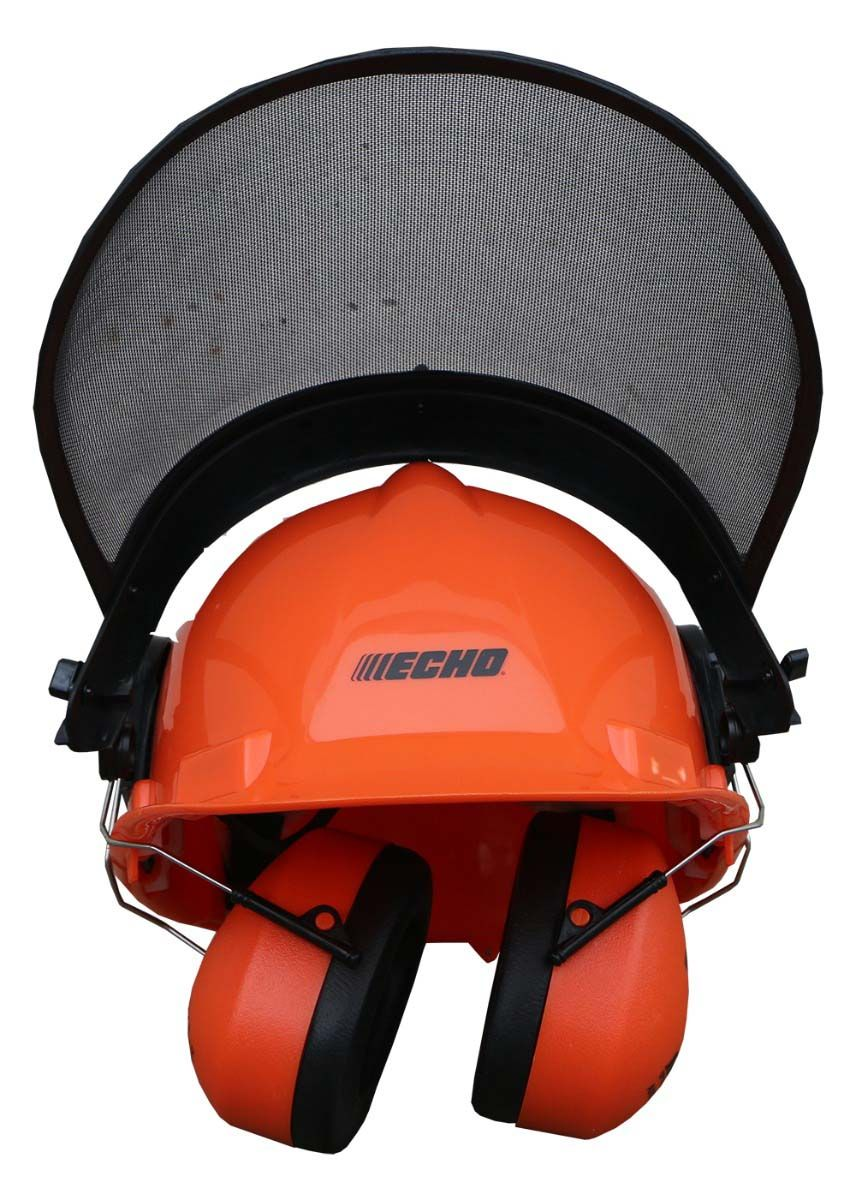 Front View of ECHO Safety Helmet
