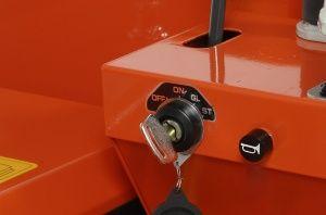 Electric Start on Kubota KC70