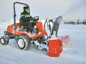 Kubota F5720 F Series Snowblower