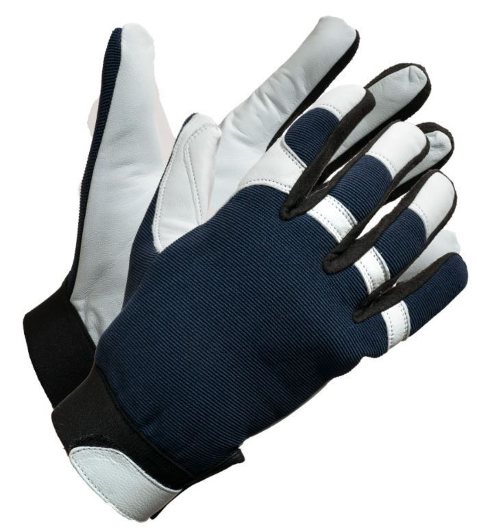 """""""Fieldwork Leather Palm"""" Leather Utility Fit Work Gloves"""