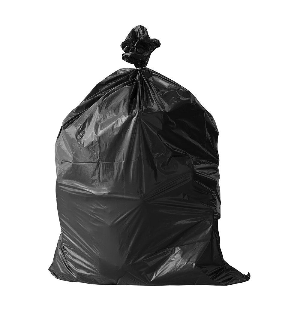 """Black Plastic Garbage Bags 35""""x47"""""""