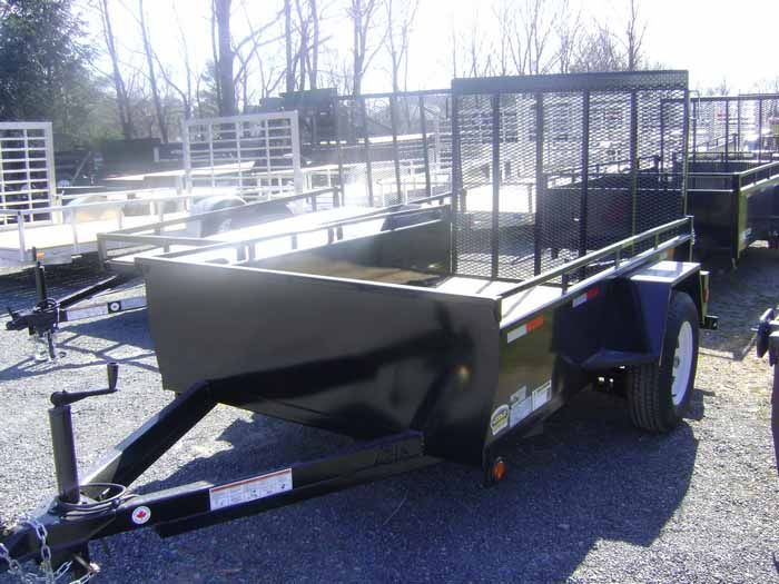 General Duty Landscape Single Trailer (6' W x 10' L) GDLS 610