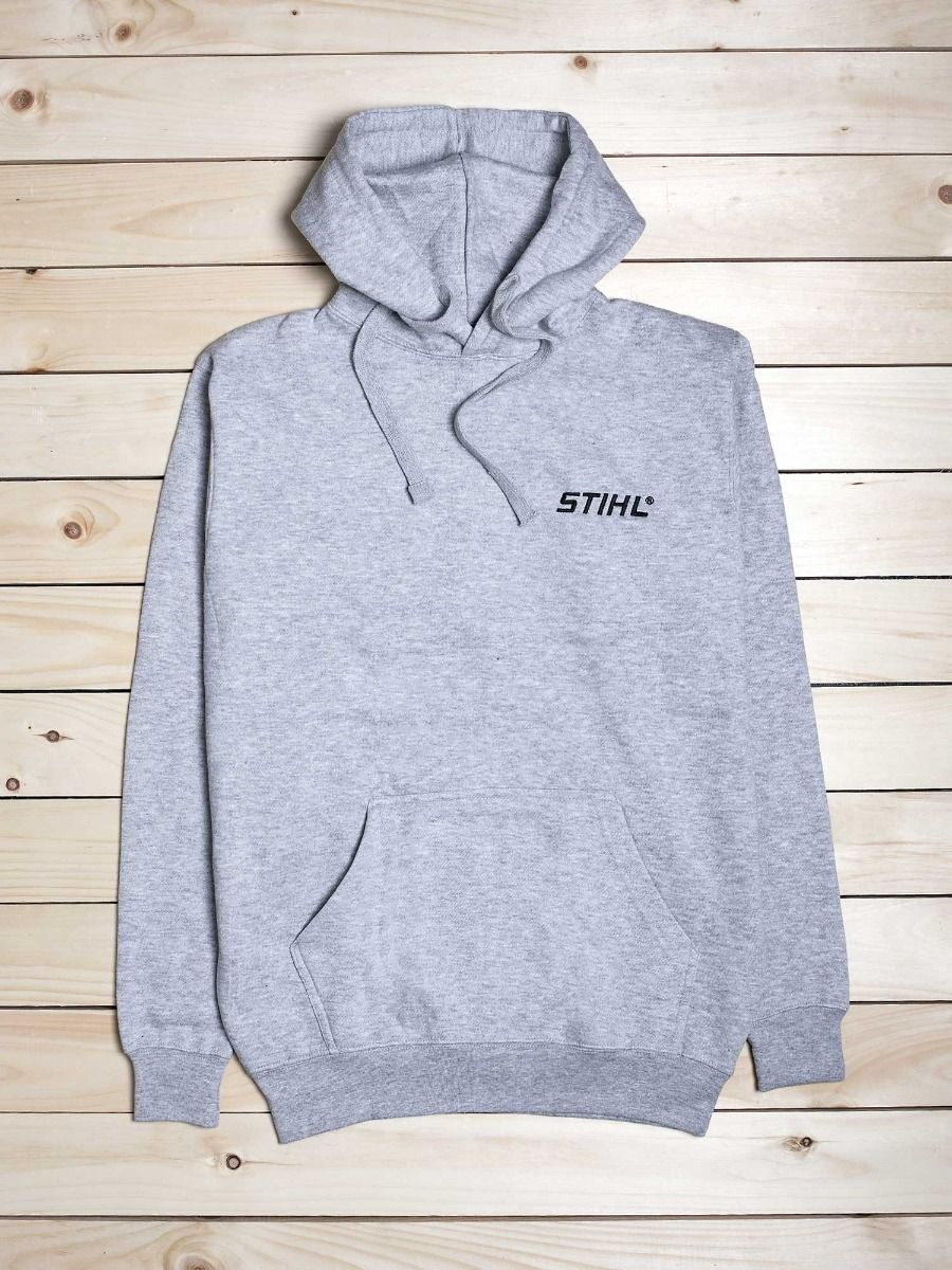 STIHL Sport Grey Hooded Sweatshirt