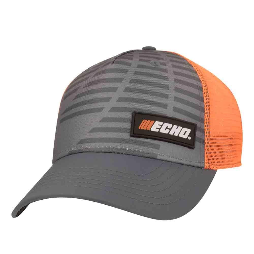 ECHO Grey/Orange Cap