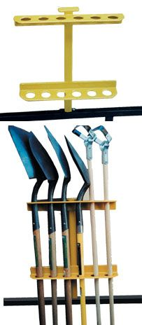 Green Touch Open Trailer Hand Tool Rack