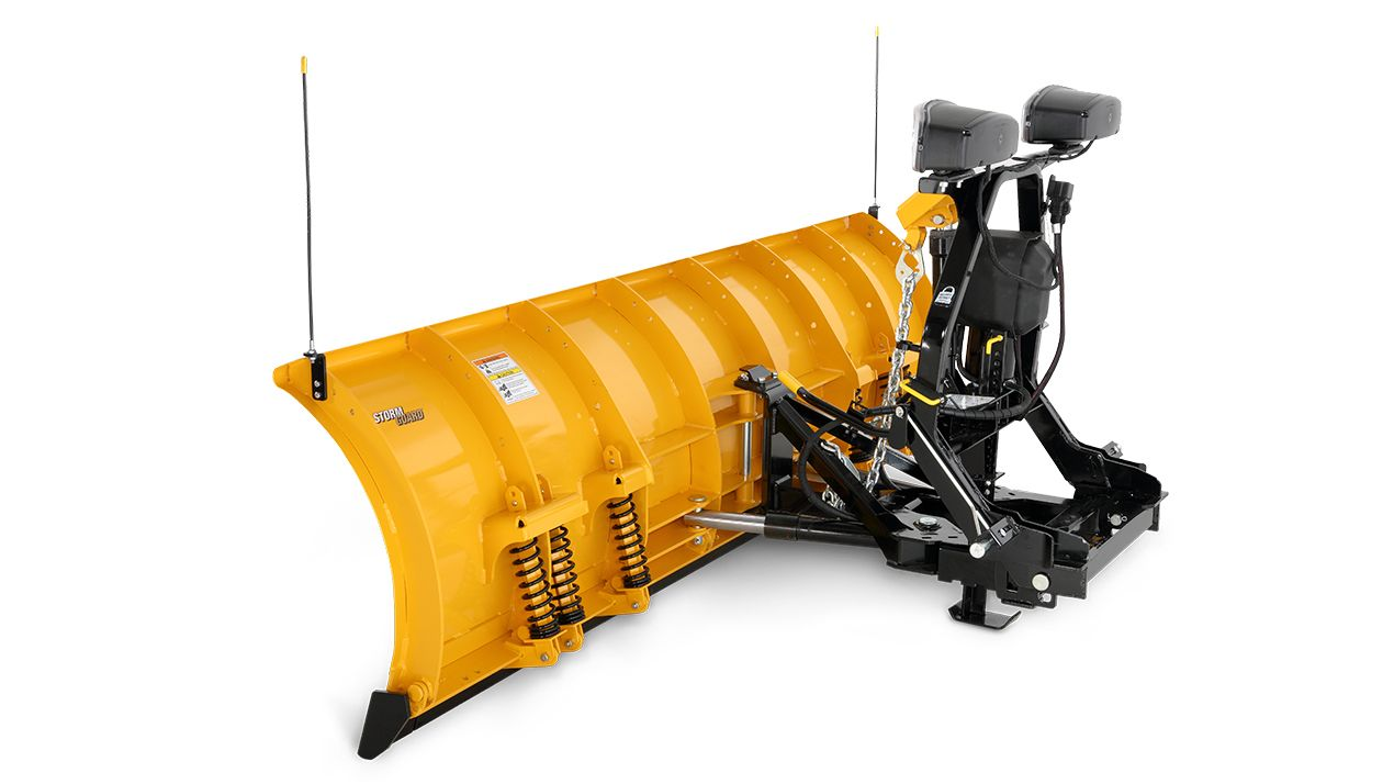 Fisher 9'MC Series Plow Side-View