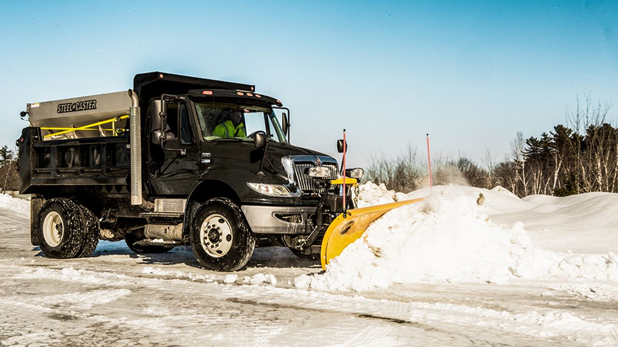 SECURITY GUARD™ Anti-Theft System  The exclusive SECURITY GUARD™ anti-theft system is a safe and secure way to electronically lock your snow plow whenever it is detached from your truck.