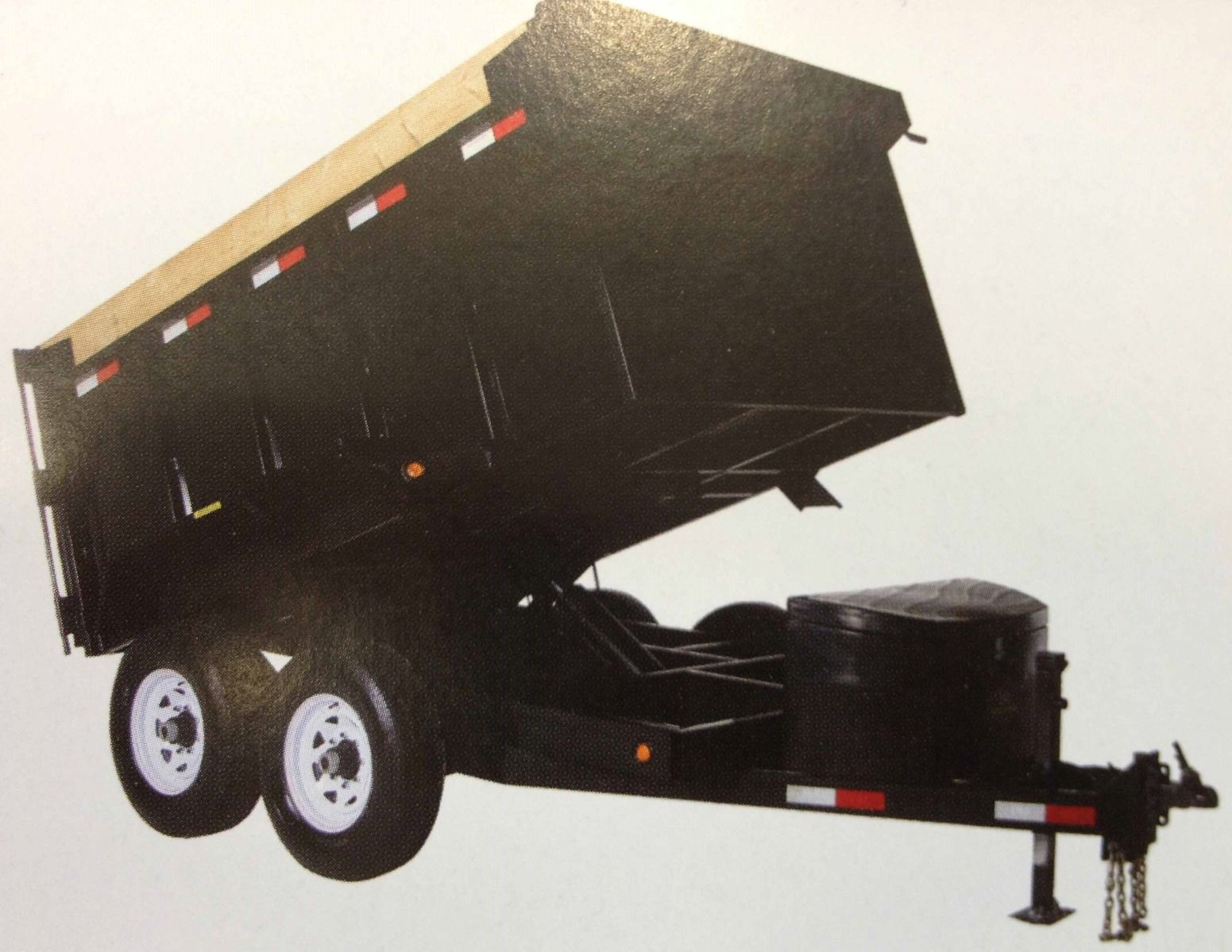 JDJ Heavy Duty Dump Tandem Trailer HDD 610