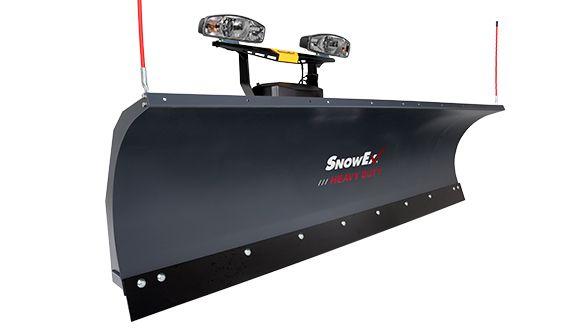 "SnowEx 8600HD 8'6"" Heavy Duty Straight Blade Plow"