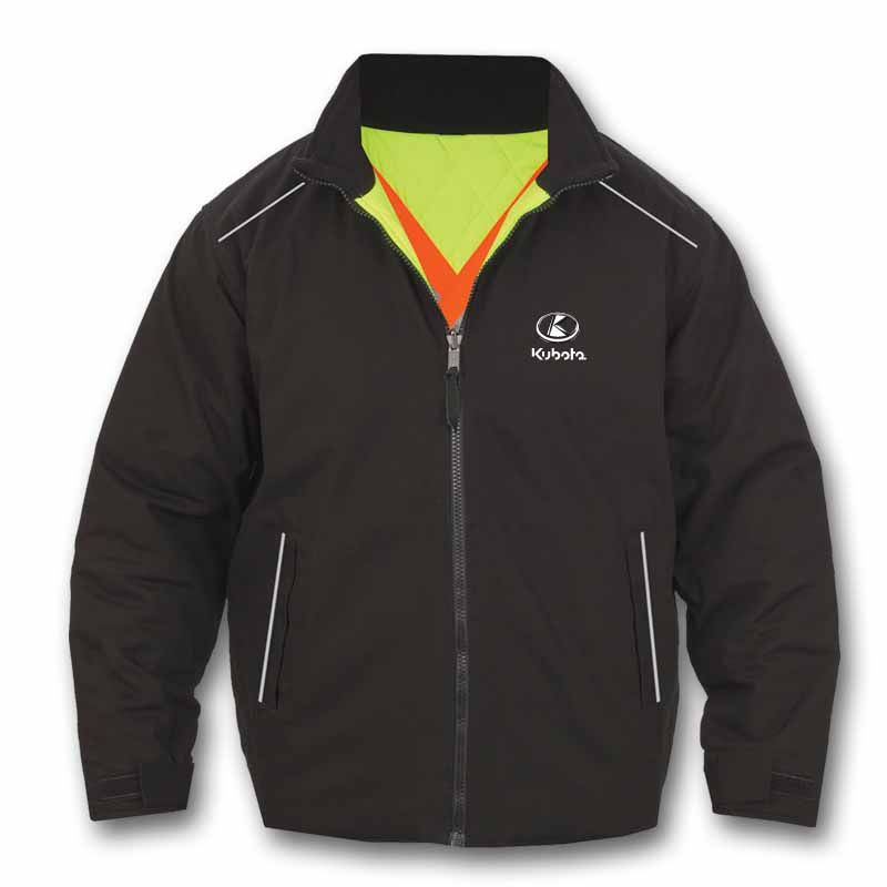 Kubota High Vis Reversible Jacket