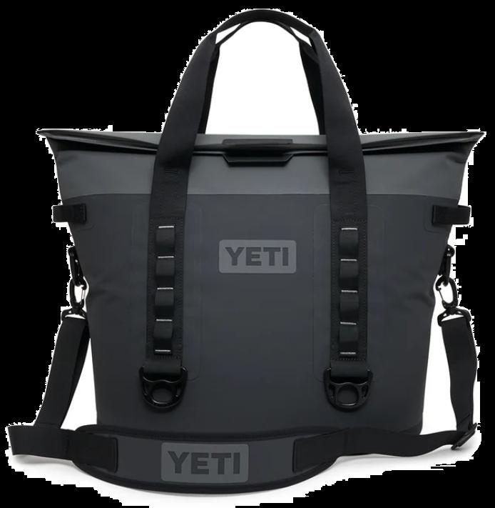 Charcoal YETI Hopper M30 Soft Cooler