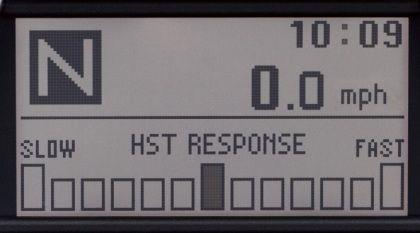 HST Response Control