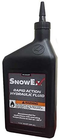 SnowEx 84497 Hydraulic Fluid 1Qt Bottle