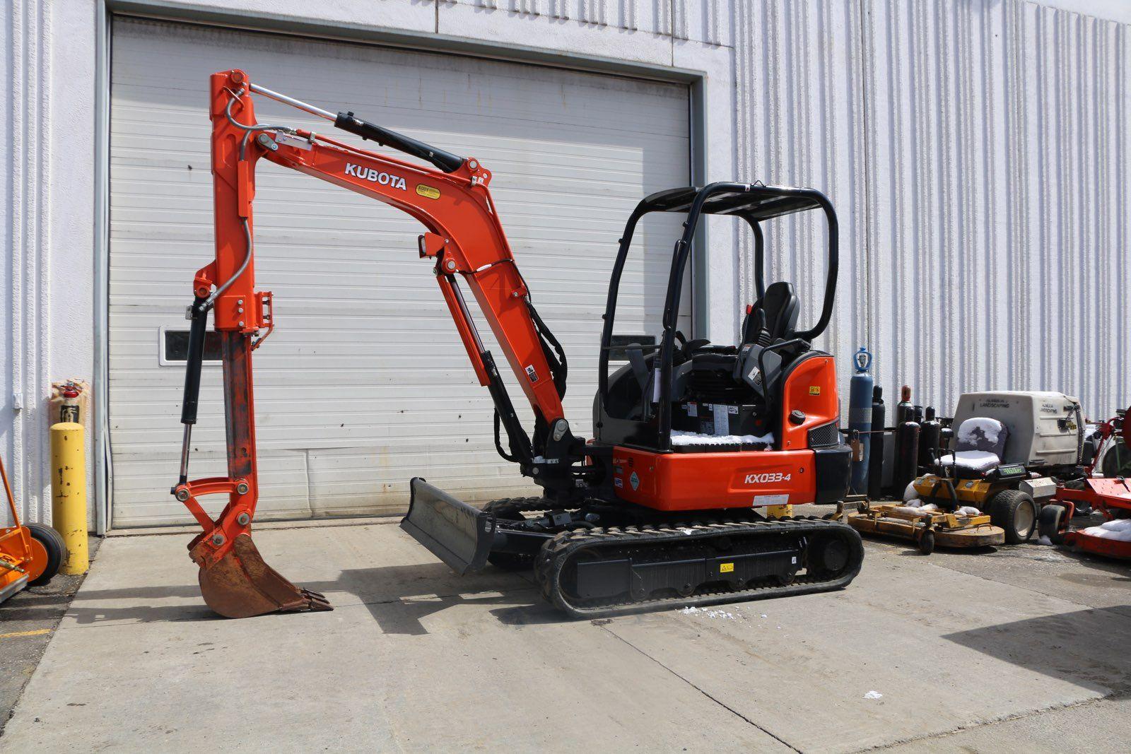 Kubota KX033 Excavator