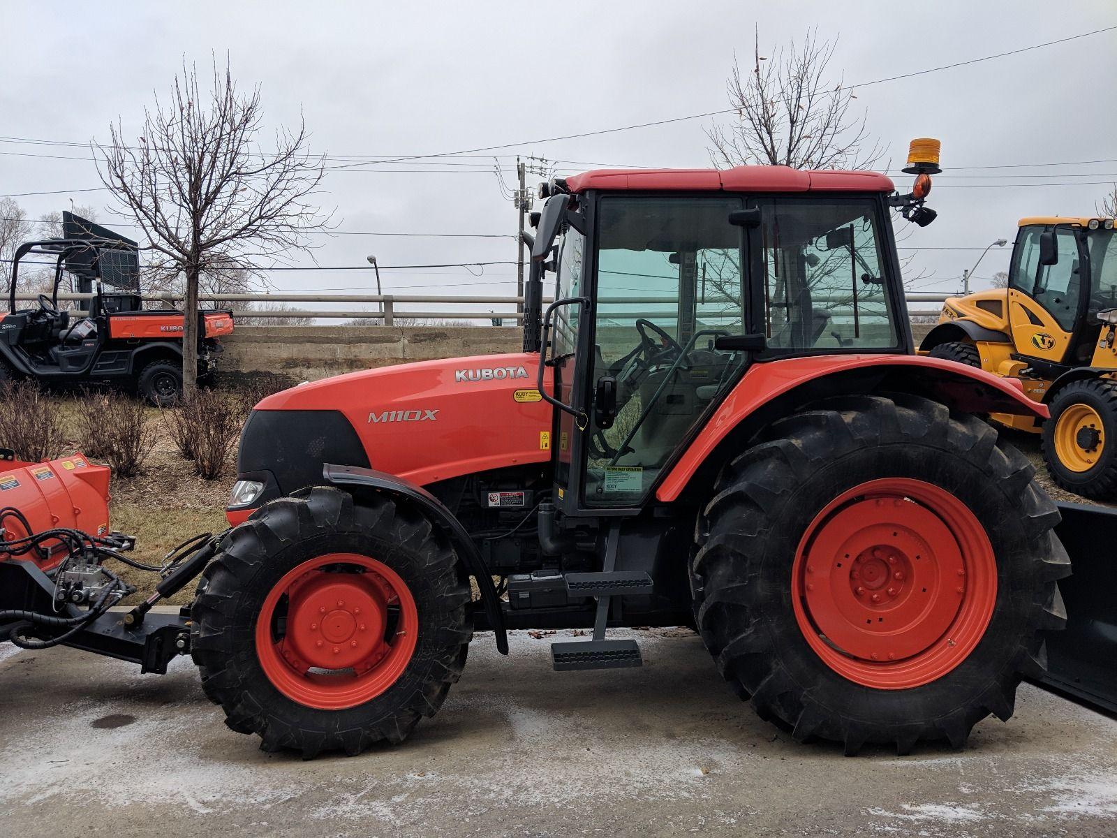 M110XDTC Kubota Tractor