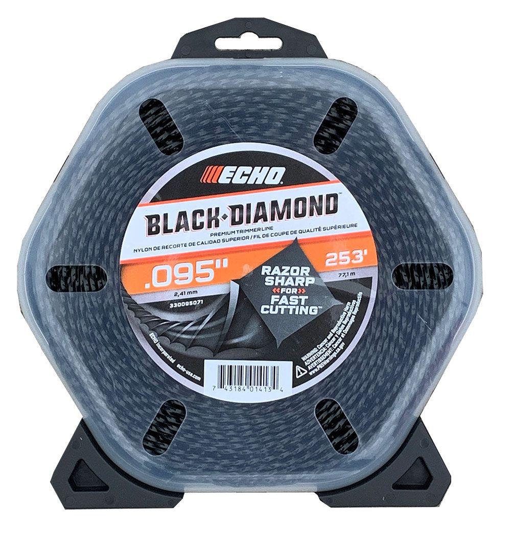 ECHO .095 Black Diamond Trimmer Line 1lb Roll