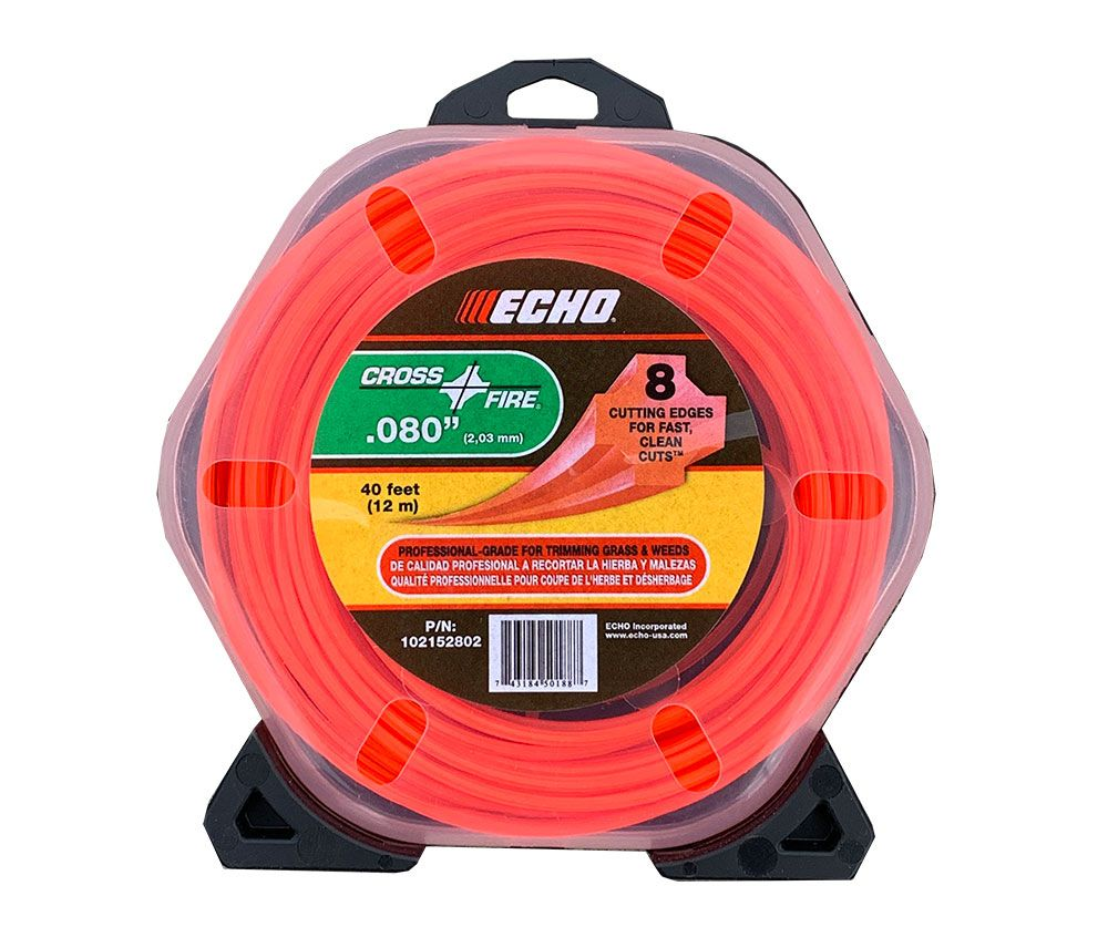 ECHO .080 Round Trimmer Line 40' Roll