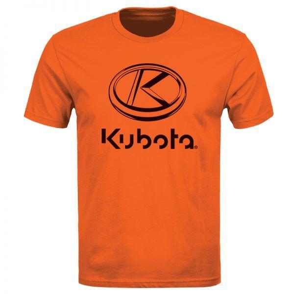 Kubota Adult T-Shirt Stacked Logo