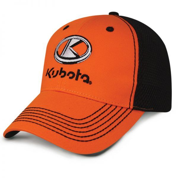 Kubota Velcro Thick Stitch Cap