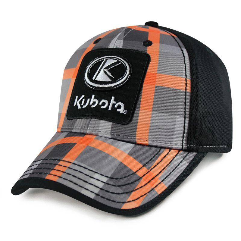 Kubota Youth Hat CheckBox Pattern