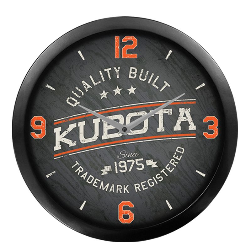 Kubota Quality Built Wall Clock