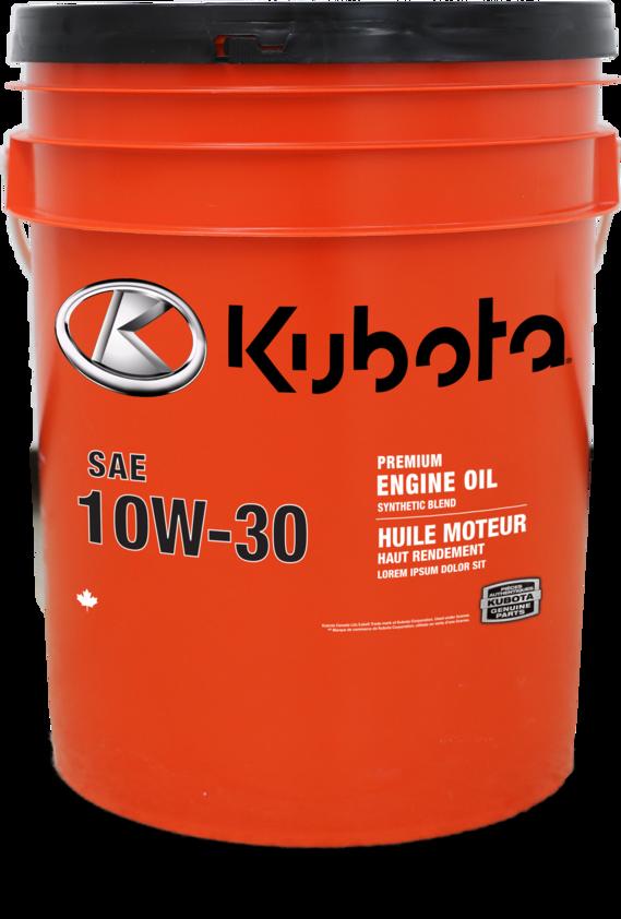 Kubota SAE 10W-30 Heavy Duty Engine Oil 20L