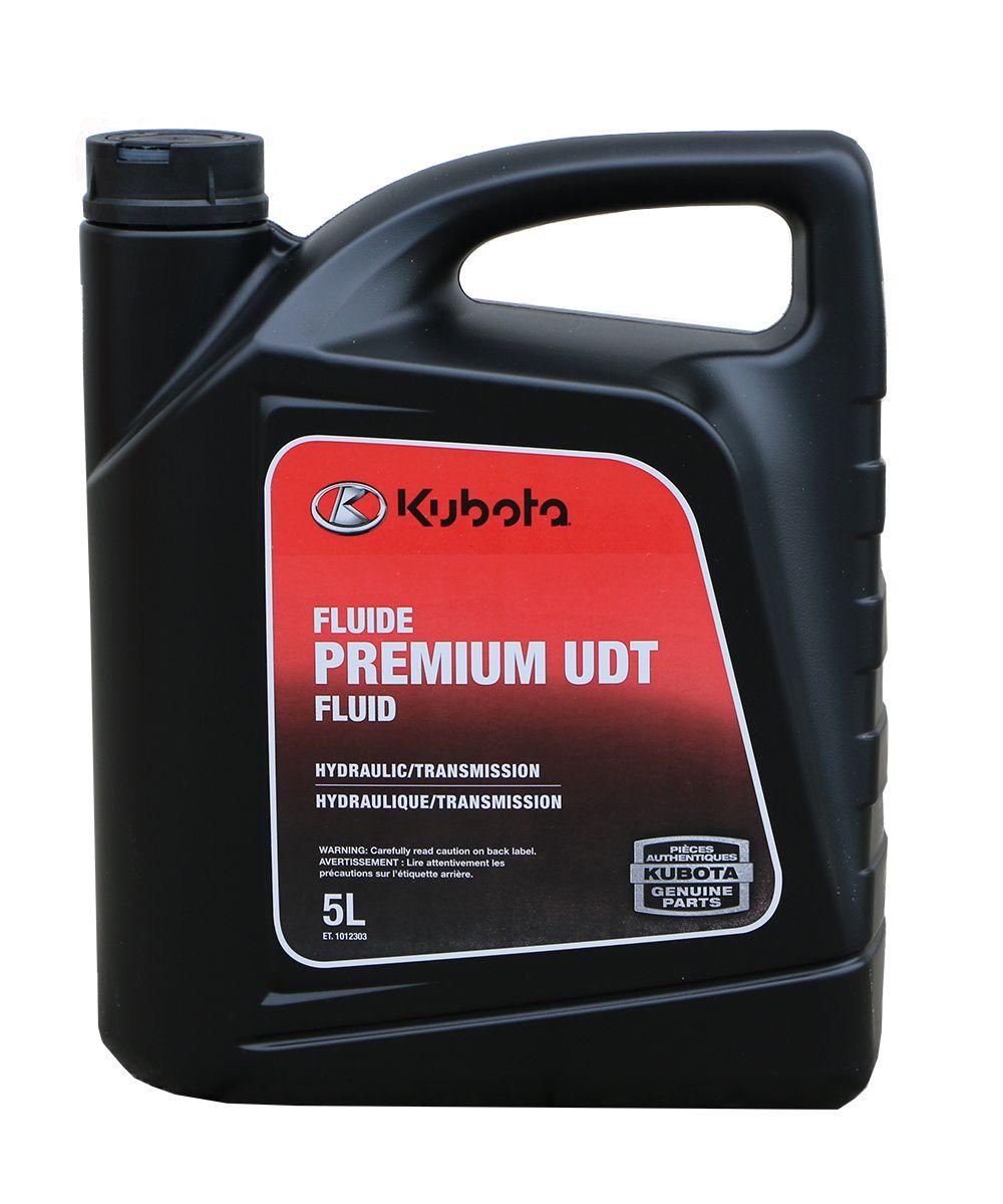 5 Litre Jug of Kubota UDT  Hydraulic Transmission Fluid 72000-03406