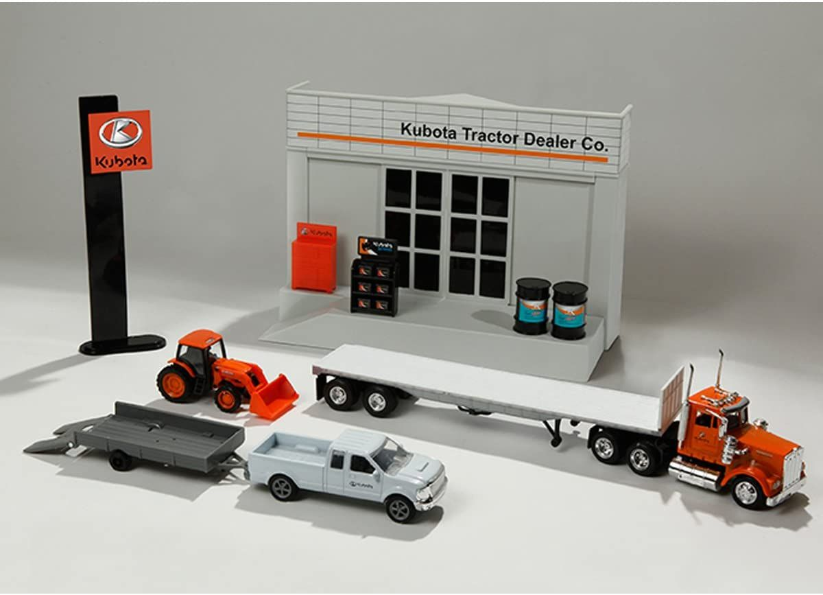 Kubota 11 Piece Dealership Play Set