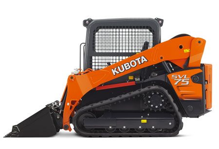 Side view of the Kubota SVL75-2
