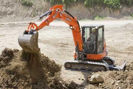 Kubota U55-4W1 Excavator