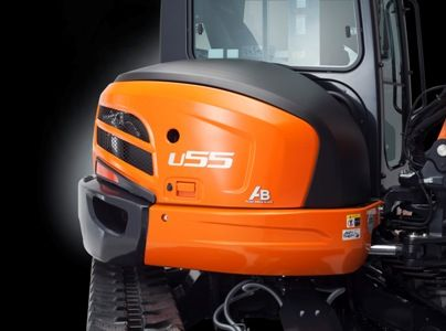 Your U55-4W1 is protected by Kubota's industry-leading anti- theft system. Only programmed keys will enable the engine to start up.
