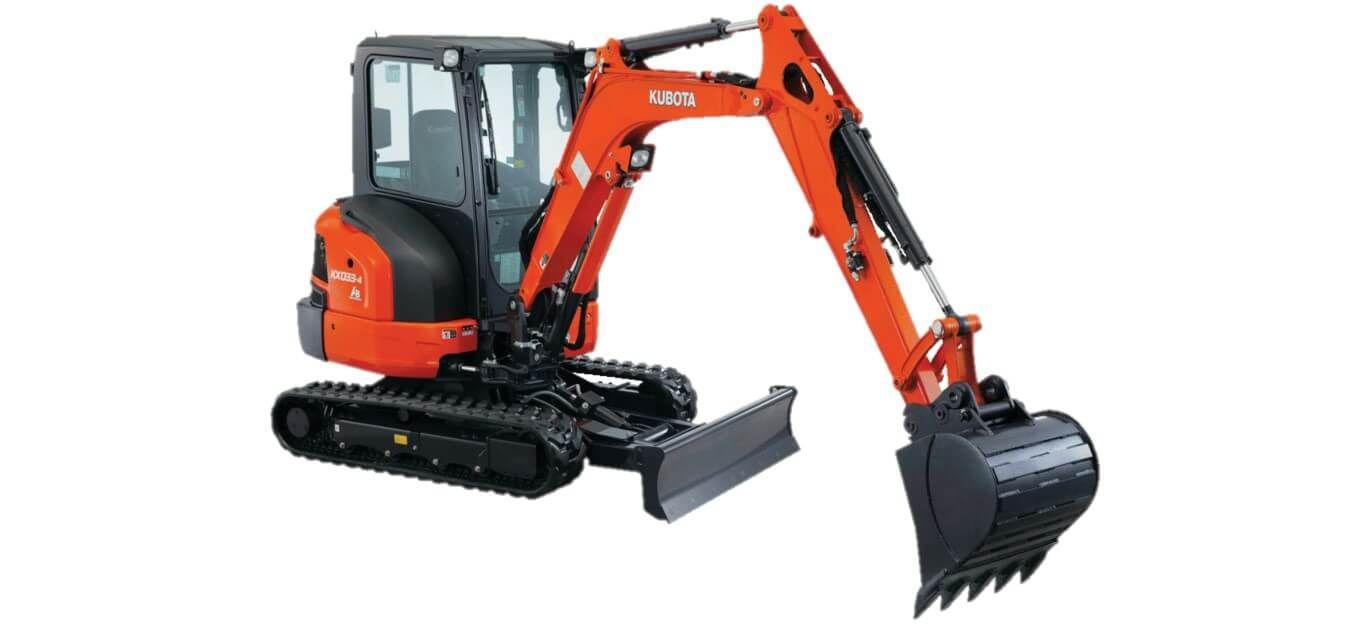 Kubota KX033-4 Excavator