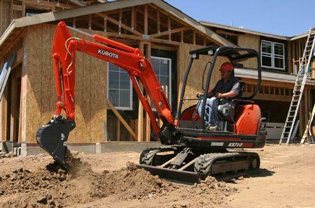 Kubota KX71-3HGLS Canopy Excavator